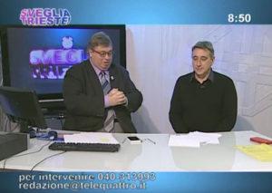 Sveglia Trieste Tele4 3 febbraio 2017