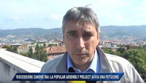 Vito Potenza Telequattro petizione Hera canone RAI