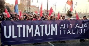 ultimatum all'Italia corteo