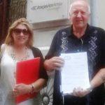 Avv Giuseppe Turco e Paola Rocco Hera