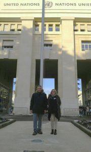 Nazioni Unite ONU Paola Rocco e Vito Potenza Territorio Libero di Trieste