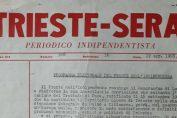 Trieste Sera programma elettorale